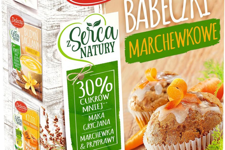 Nowe Babeczki marchewkowe od Delecta