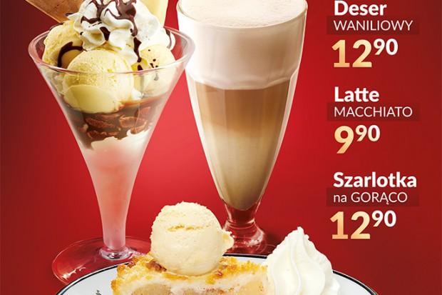 W lodziarnio-kawiarniach Grycan teraz bestsellery w specjalnych, niższych cenach