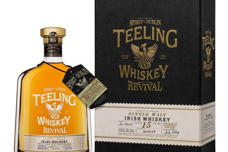 Whiskey Teeling Revival IV debiutuje na polskim rynku