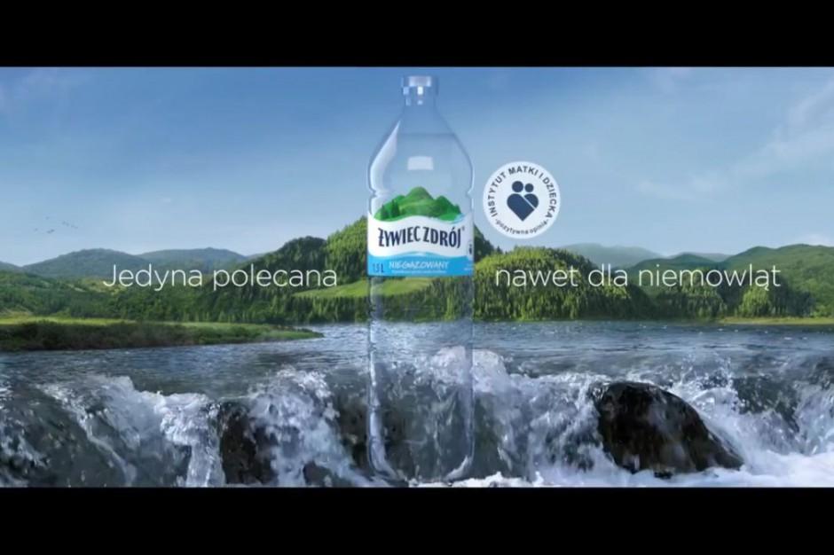 Żywiec Zdrój promowany jako woda