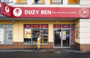 Eurocash chce rozwinąć koncept sklepów z alkoholem Duży Ben (zdjęcia)