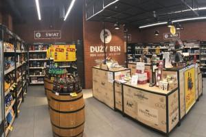 Zdjęcie numer 1 - galeria: Eurocash chce rozwinąć koncept sklepów z alkoholem Duży Ben (zdjęcia)