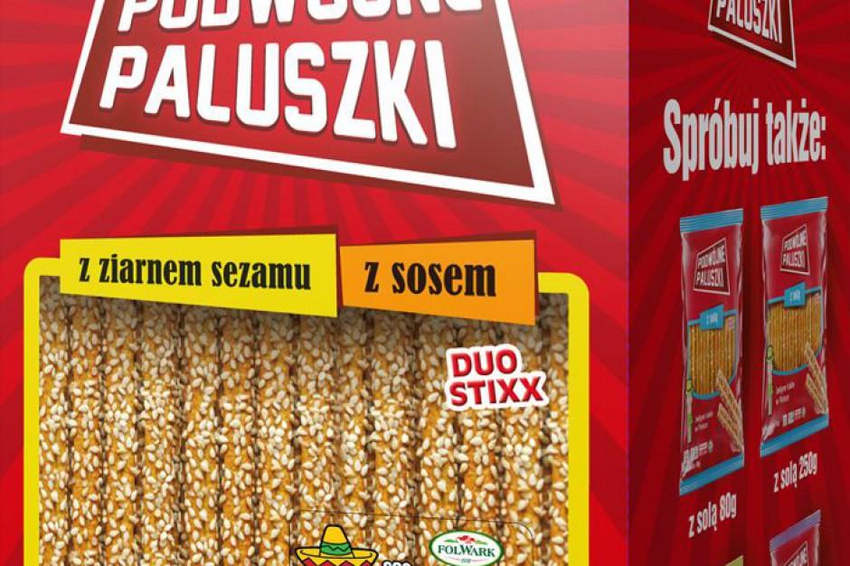 Nowa linia podwójnych paluszków z sosami Folwark