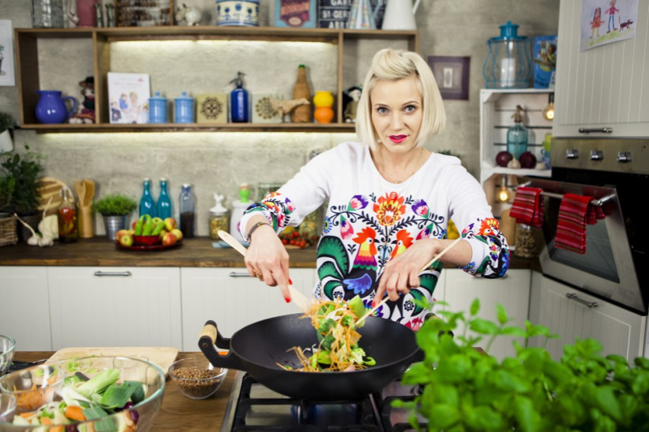 Daria Ładocha na Food Show 2018 - pokaz kulinarny, spotkanie autorskie, Megawieczór Kulinarny