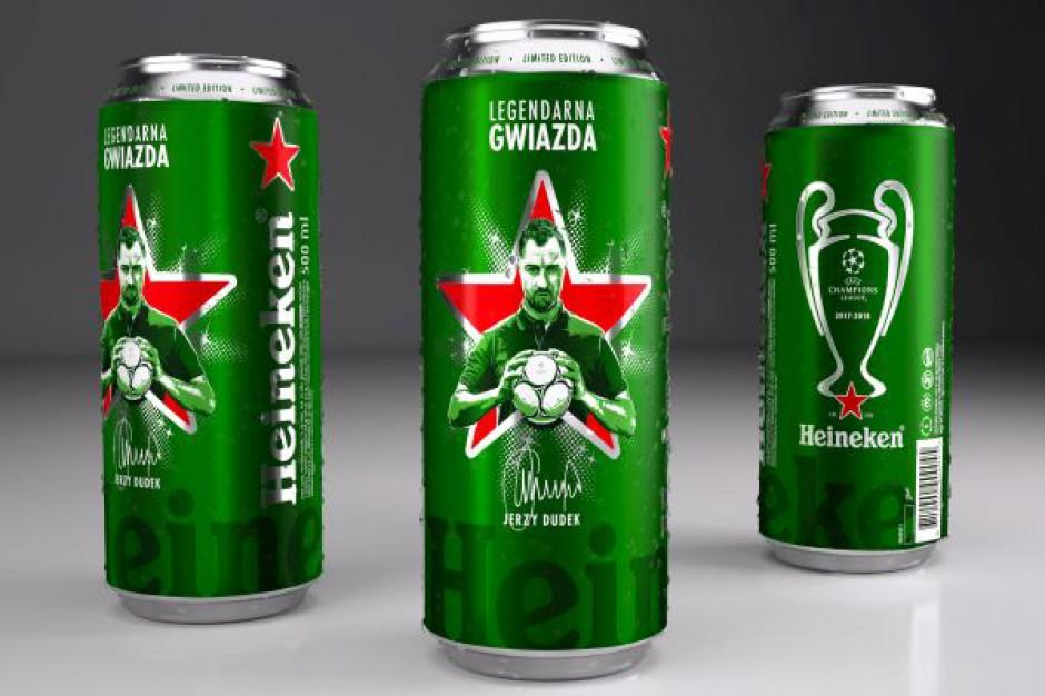 Jerzy Dudek na limitowanej edycji puszki Heinekena