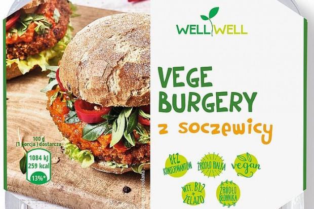 Vege burgery z soczewicy od Well Well
