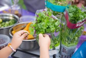 Warsztaty dla dzieci Fundacji Szkoła na Widelcu na Food Show 2018