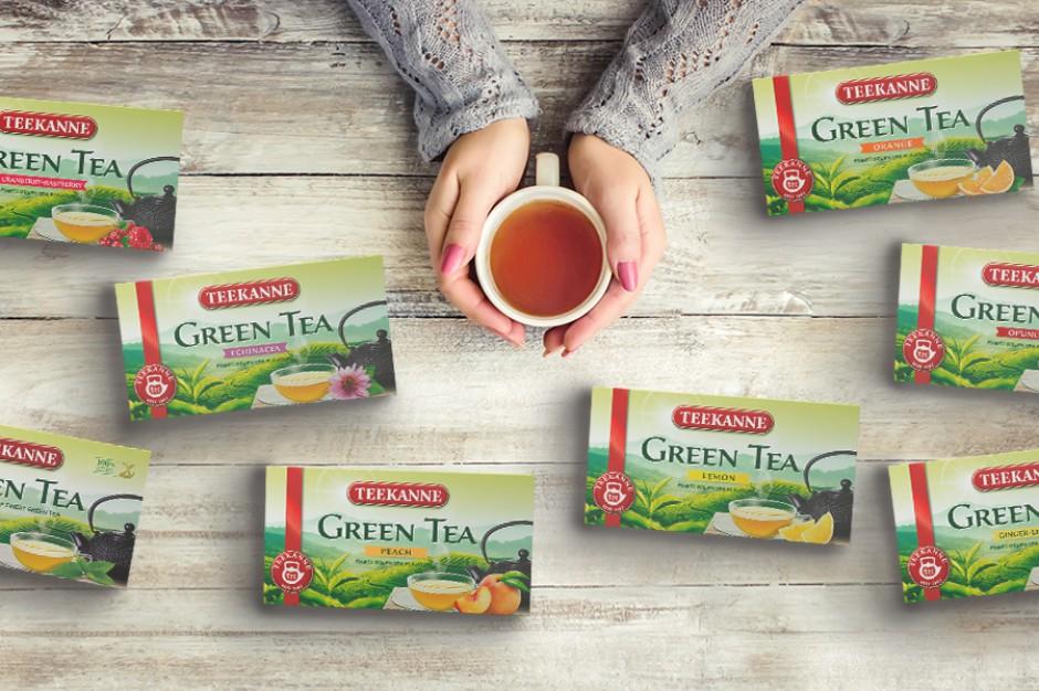 Zielone herbaty Teekanne w nowych wydaniach