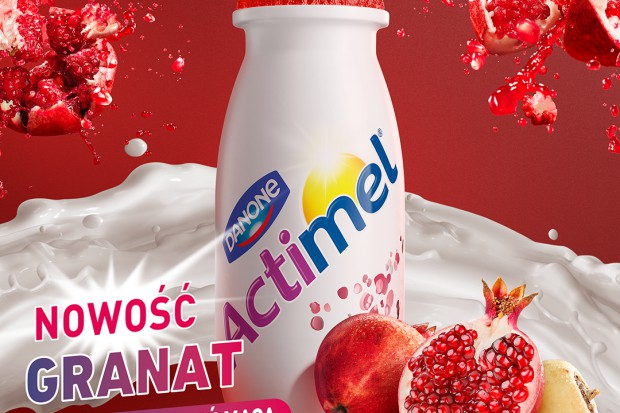 Danone wprowadza nowe smaki Actimela