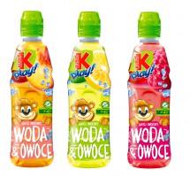 Nowość od Kubusia Play: Woda&Owoce bez dodatku cukru