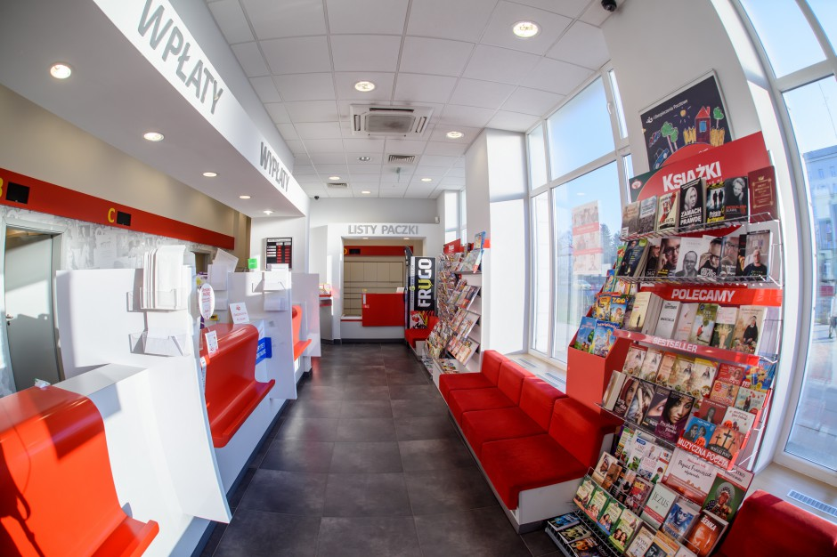 Poczta Polska chce być jednym z największych w kraju dystrybutorów książek