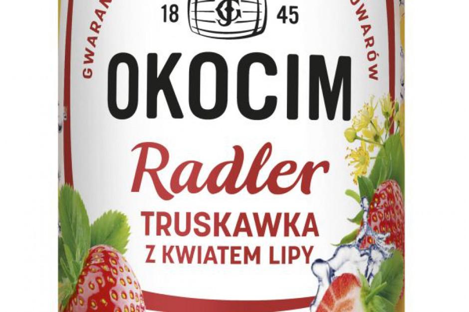 Nowość marki Okocim - truskawkowo-lipowy smak lata