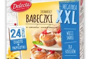 Nowość od Delecta - Babeczki XXL, czyli megapaka dla łasuchów
