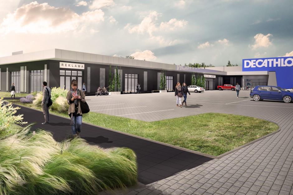 Nowy park handlowy w Jaworznie