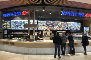 Nowe restauracje North Fish z opcją delivery