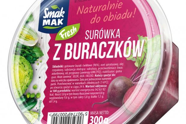 SmakMak wprowadza surówkę z buraczków