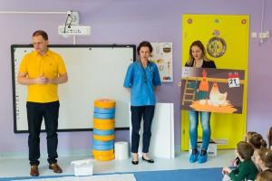 Zdjęcie numer 1 - galeria: KRD-IG edukuje przedszkolaków na temat drobiu (zdjęcia)