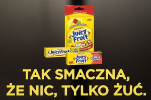 Juicy Fruit w nowej kampanii w social mediach i konkursem