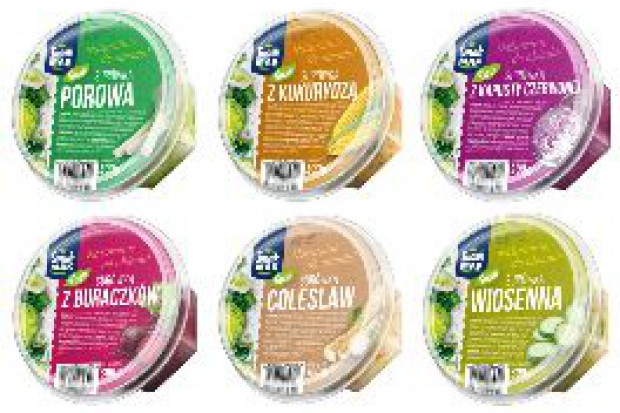 Nowe surówki SmakMAK Fresh – 6 świeżych pomysłów na urozmaicenie obiadu