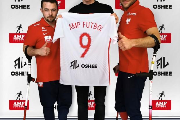 Robert Lewandowski i Oshee wspierają reprezentację Polski Amp Futbol