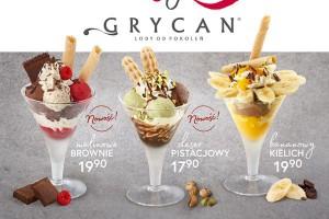 Nowa oferta Kochamy Desery w lodziarnio-kawiarniach Grycan
