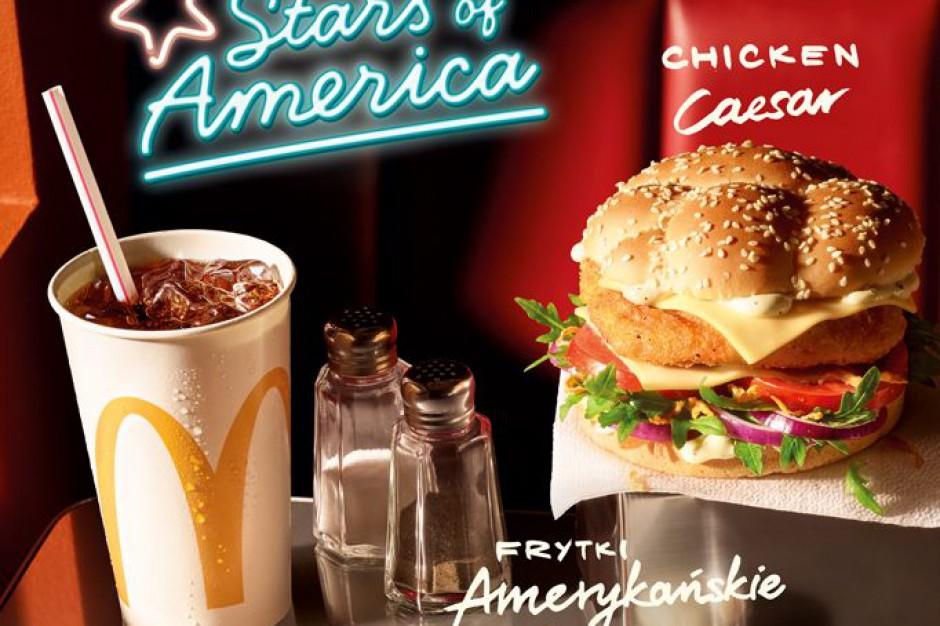 Amerykańskie gwiazdy smaku wracają do McDonald's