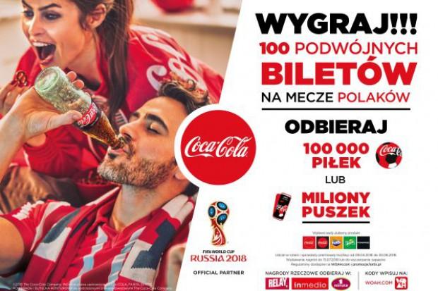 Promocja narodowa Coca-Cola z okazji Mistrzostw Świata FIFA 2018