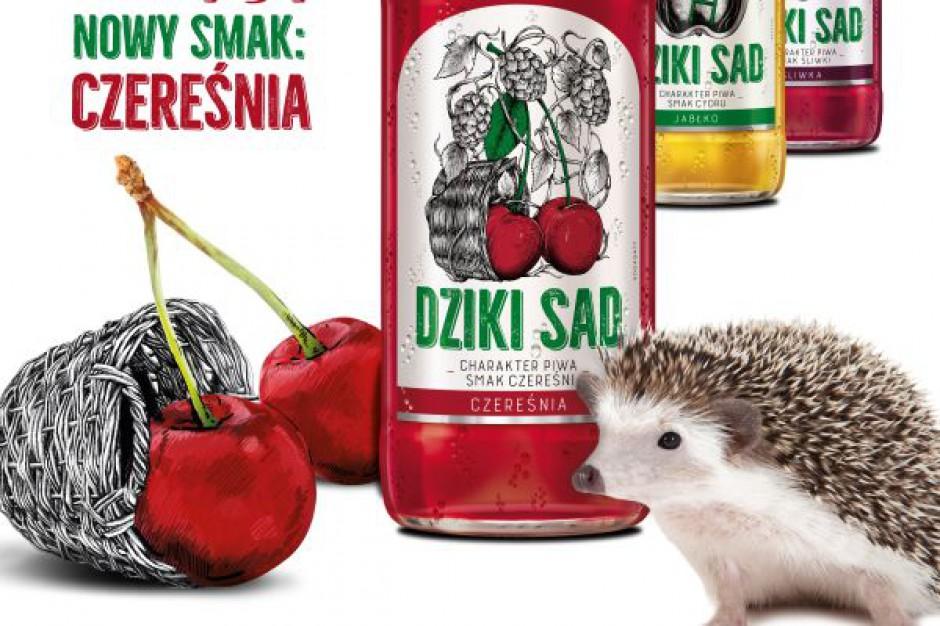 Nowość od marki Dziki Sad – piwo o smaku czereśniowym