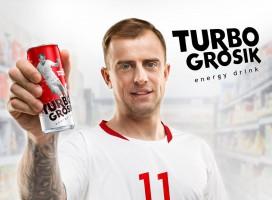 """Kamil Grosicki ma swój napój energetyczny. Powstał """"TurboGrosik"""""""