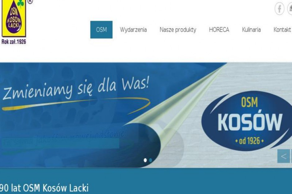 Zmiany w zarządzie OSM Kosów Lacki
