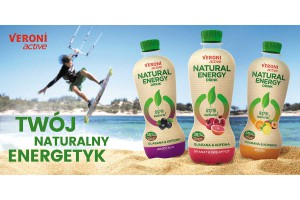 Rusza wielka kampania marketingowa Veroni active Natural Energy Drink