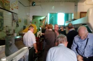 Zdjęcie numer 2 - galeria: Uczestnicy Euroforum zwiedzili muzeum mleczarstwa (galeria)