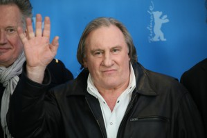 "Nowa wódka z Białorusi ""Gerard Depardieu"""