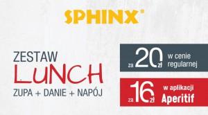 Sphinx z nową ofertą na lunch