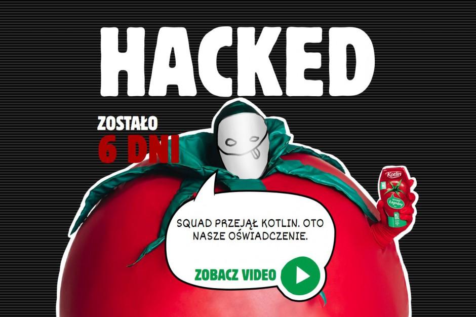 Kampania promocyjna. Media ketchupu Kotlin przejęte przez nieznanych sprawców