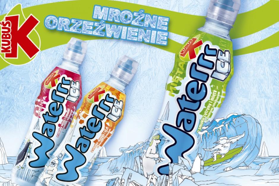 Waterrr ICE – mroźne orzeźwienie na lato od Kubusia
