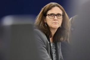 Komisarz Malmstroem: Reforma WTO zahamowałaby tendencje protekcjonistyczne