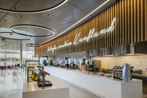 Kaufland otwiera restaurację i salę fitness dla pracowników centrali