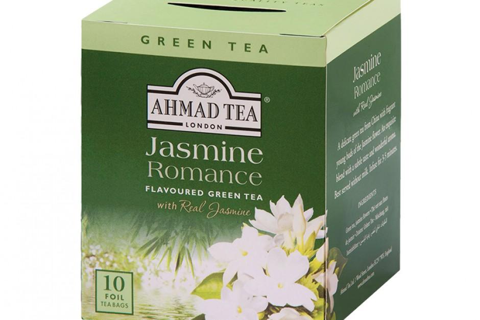 Jasmine Green Tea nowość od Ahmad Tea