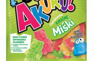 Metamorfoza i rebranding żelków Akuku! od Colian