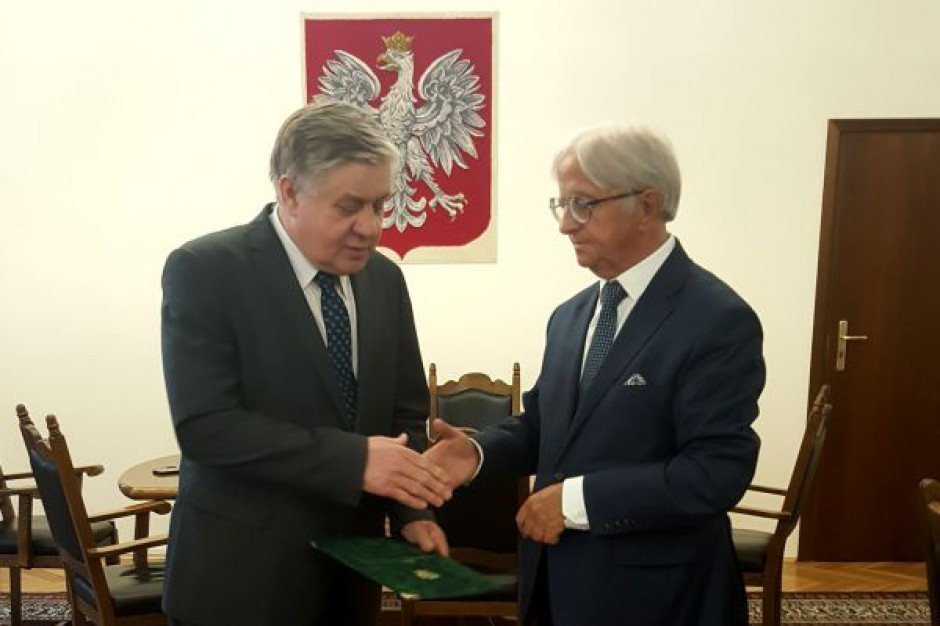 Janusz Dąbrowski, dyrektor Praskiej Giełdy Spożywczej, został doradcą ministra rolnictwa