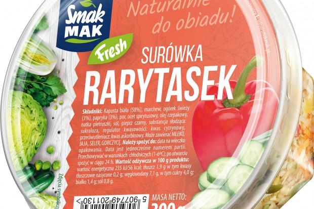 "SmakMak wprowadza surówkę ""Rarytasek"""