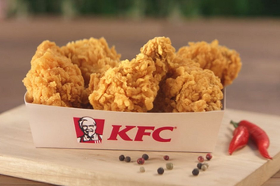 KFC z promocją 5 Hot Wings za 5 zł