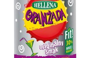 Czerwona Oranżada Hellena FIT 1,25 l
