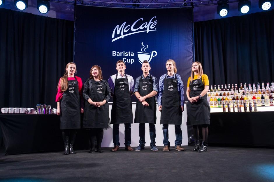 McDonald's nagrodził swoich najlepszych baristów
