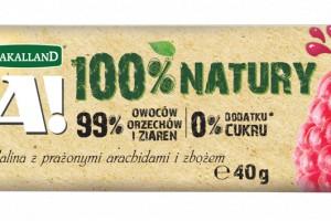Nowe batony owocowe Bakalland BA! 100% Natury