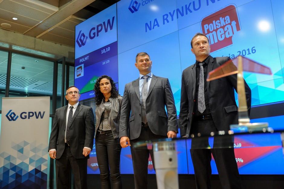 GPW zawiesiła obrót akcjami Polska Meat