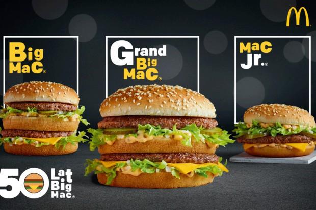 McDonald's: Big Mac ma już 50 lat
