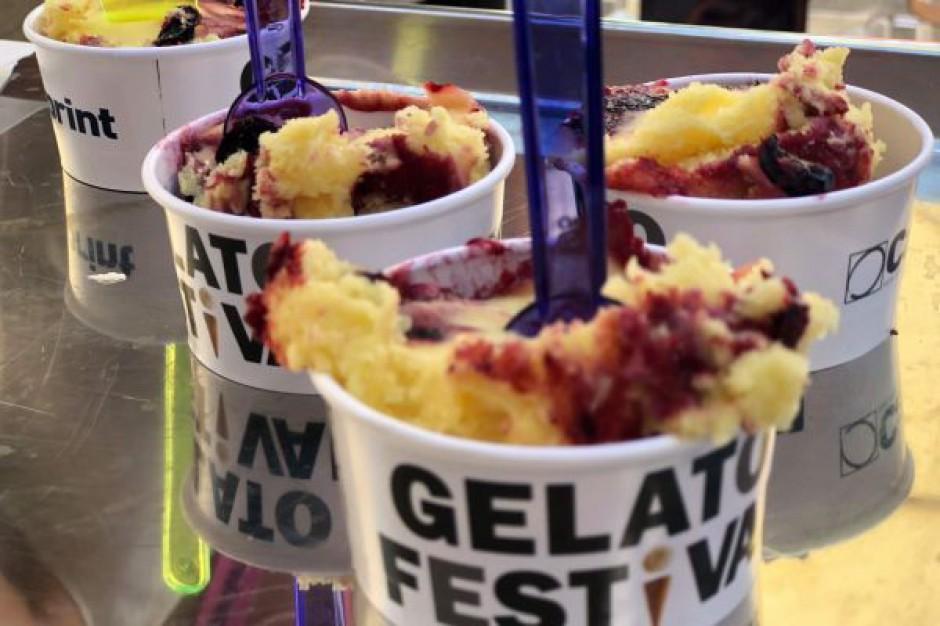 Podczas dwóch dni Gelato Festival w Warszawie zjedzono ponad dwie tony lodów