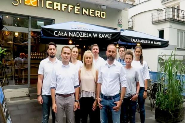 Green Caffè Nero w social media dziękuje gościom za wsparcie